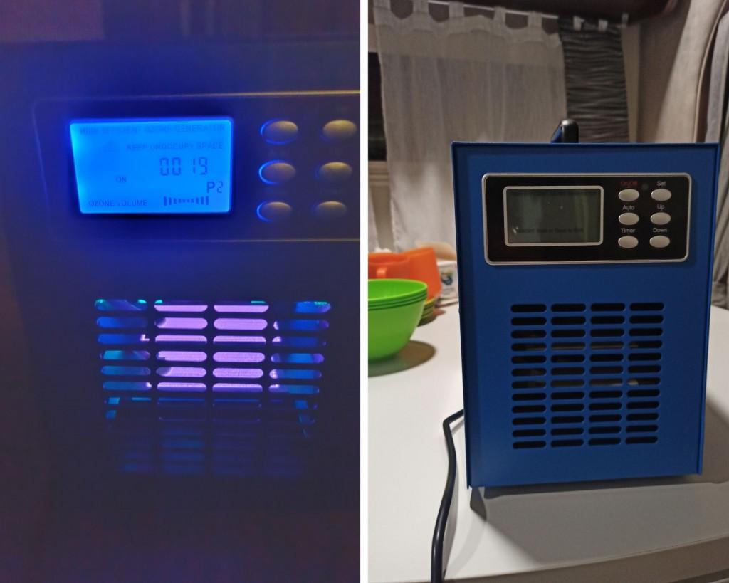 Ozonator powietrza z UV